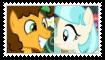 (Request) Cheese SandwichXCoco Pommel Stamp by KittyJewelpet78