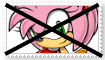 (Request) Anti Amy Rose Stamp by KittyJewelpet78