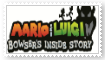 (Request) M and L Bowser's Inside Story stamp by SoraRoyals77