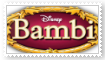 Bambi Movie Stamp by SoraJayhawk77