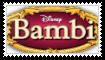 Bambi Movie Stamp by KittyJewelpet78