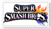 Super Smash Bros 4 Stamp by SoraRoyals77