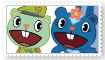 (Request) FlippyXPetunia Stamp by SoraJayhawk77