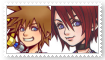 (Request) SoraXKairi Stamp by SoraJayhawk77