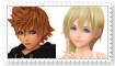 (Request) RoxasXNamine Stamp by SoraJayhawk77