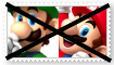 (Request) Anti MarioXLuigi Stamp by SoraRoyals77