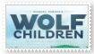 (Request) Wolf Children Stamp by KittyJewelpet78