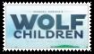 (Request) Wolf Children Stamp by KittyJewelpet78