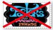 Anti Foster Home for Imaginary Friends Stamp by SoraJayhawk77