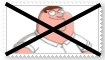 Anti Peter Griffin Stamp by SoraRoyals77