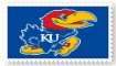 Kansas Jayhawks Stamp by SoraJayhawk77