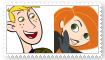 (Request) Kim PossibleXRon Stoppable Stamp by SoraJayhawk77