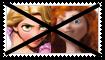 (Request) Anti RapunzelXMerida Stamp by KittyJewelpet78