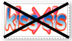 (Request) Anti Kiss x Sis Stamp by KittyJewelpet78