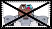 Anti Cyborg (Teen Titans Go) Stamp by KittyJewelpet78