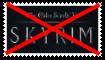 Anti Skyrim Stamp by KittyJewelpet78