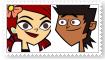 (Request) MikeXZoey Stamp by SoraJayhawk77