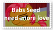 (Request) Babs Seed needs more love Stamp by SoraJayhawk77