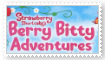 Strawberry Shortcake's Berry Bitty Adventure Stamp by SoraRoyals77