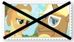 (Request) Anti TrenderhoofXApplejack Stamp by KittyJewelpet78