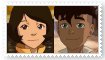 (Request) Kai X Jinora Stamp by KittyJewelpet78