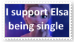 (Request) Elsa being single Stamp