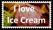 I love Ice Cream Stamp