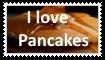 I love Pancakes Stamp by KittyJewelpet78
