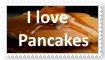I love Pancakes Stamp by KittyJewelpet78