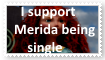 (Request) I support Merida being single by KittyJewelpet78