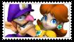 (Request) DaisyXWaluigi Stamp by KittyJewelpet78