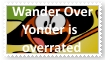 Wander Over Yonder is overrated Stamp by SoraRoyals77