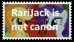 (Request) RariJack is not canon by KittyJewelpet78
