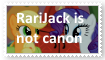 (Request) RariJack is not canon by KittyJewelpet78