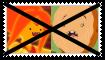 (Request) Anti Flame PrincessXCinnamon Bun Stamp by KittyJewelpet78