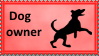 Dog Owner Stamp by SoraJayhawk77