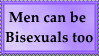 Bisexuals are not just for women by SoraJayhawk77