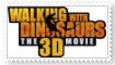 (Request) Walking with Dinosaurs 3D Movie Stamp by SoraRoyals77