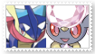 (Request) DiancieXGreninja Stamp by SoraJayhawk77