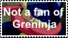 Not a fan of Greninja by SoraJayhawk77