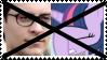 Anti Peter PakerXTwilight Sparkle Stamp by KittyJewelpet78