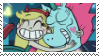 Star Butterfly and Pony Head Stamp by SoraRoyals77
