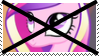 (Request) Anti Princess Cadance Stamp by KittyJewelpet78