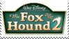 (Request) Fox and the Hound 2 Stamp by KittyJewelpet78
