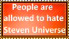 People allowed to hate SU