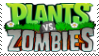 (Request) Plants vs. Zombies Stamp by SoraRoyals77