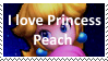 I love Princess Peach by KittyJewelpet78