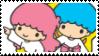 Little Twin Stars Stamp by KittyJewelpet78