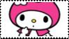 My Melody Stamp by KittyJewelpet78