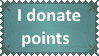 I donate points by KittyJewelpet78